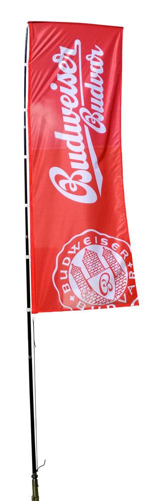 drapeau géant