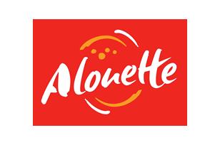 Drapeau de marque Alouette