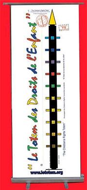 Super KAKEMONO PUBLICITAIRE : fabricant impression personnalisée QF99