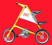 Un vélo habillé pour la publicité