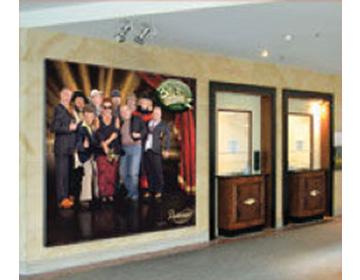 Cadre mural intérieur grande taille