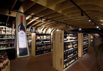 pop-up vertical cave à vin